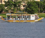 Boat on Huong river