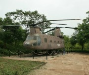 Helicopter in Khe Sanh