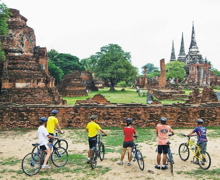 Bike Ride Tour from Bangkok to Ayutthaya