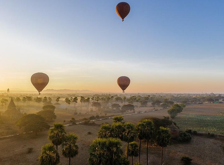Hot Air Balloon Ride in Bagan