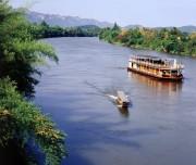 Boat on Kwai Noi