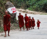 Monks Going to Golden Rock