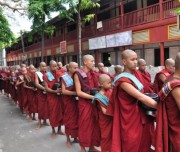 Monks at Mahar Gandar Yone