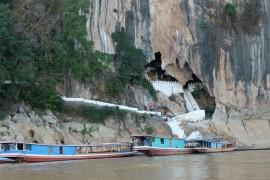 Nam Ou river with Pak Ou Caves