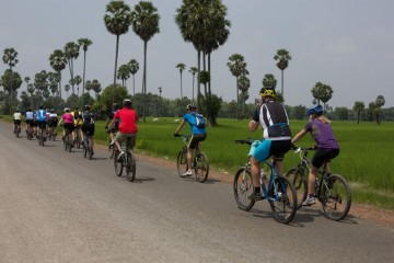 Cambodia cycling adventure tour