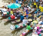 Samut amphawa floating market
