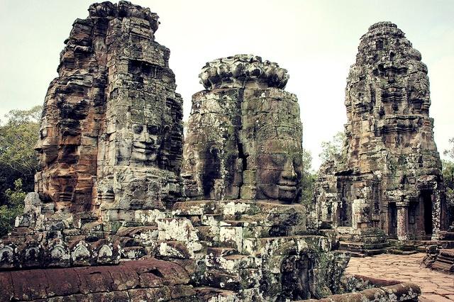 Bayon - Ankor Complex -Siem Reap