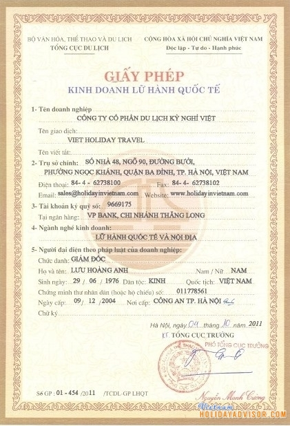 Travel License
