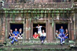 Cambodia School Tour