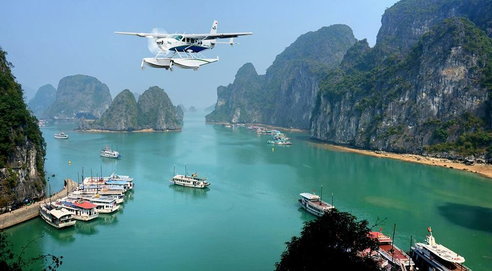Halong Seaplane Tour